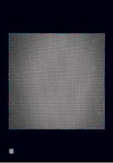 """ad. dr Dariusz Gajewski, """"Kosmos 4"""" druk cyfrowy  2005, 116,5 x 81,5 cm"""