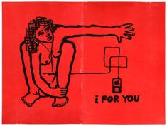 I For You, litografia/drzeworyt, 2009 r.