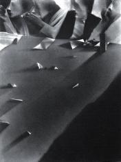 """prof. zw. Włodzimierz  Kotkowski, """"Rada"""" mezzotinta 1991, 41,5 x 31,5 cm"""